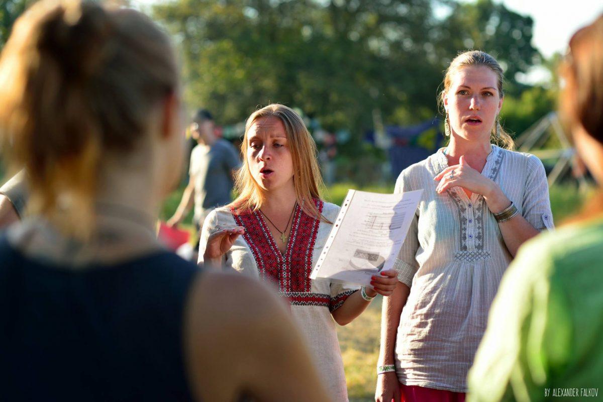 Этно Drum Fest ежегодный фестиваль этнической музыки в Украине, народное пение