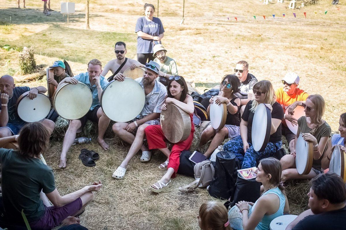 Этно Drum Fest ежегодный фестиваль этнической музыки в Украине, фреймдрам, Алексей Булаш