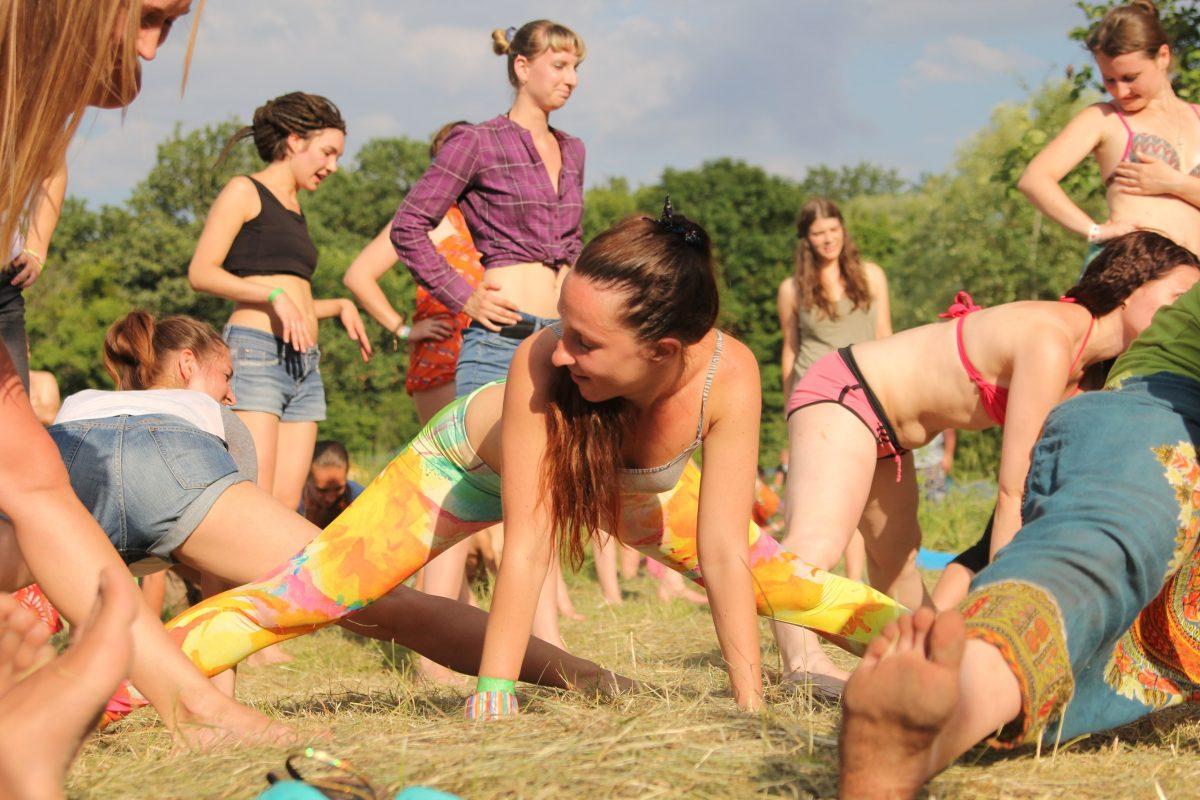 Этно Drum Fest ежегодный фестиваль этнической музыки в Украине, тверк