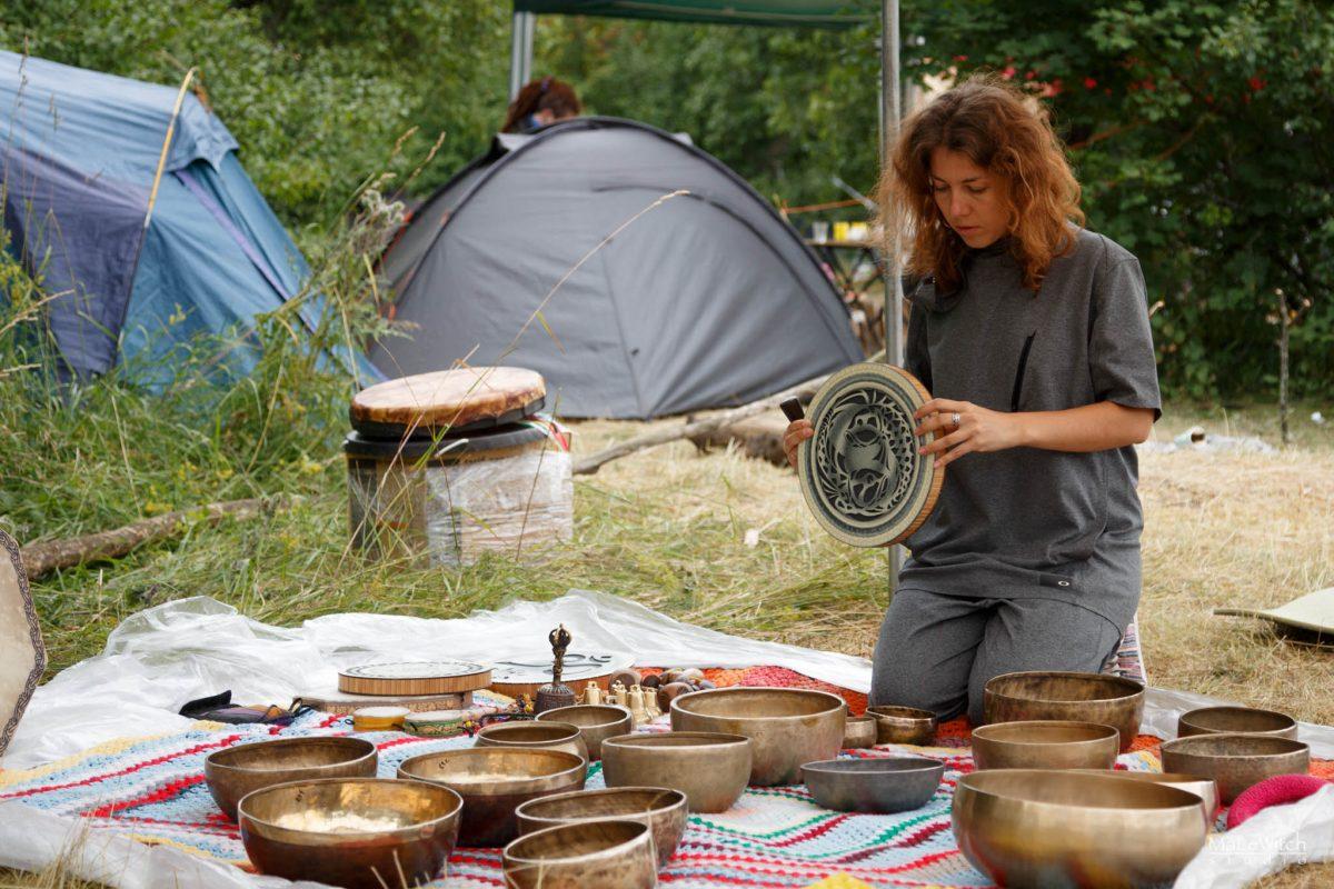 Этно Drum Fest ежегодный фестиваль этнической музыки в Украине, медитация