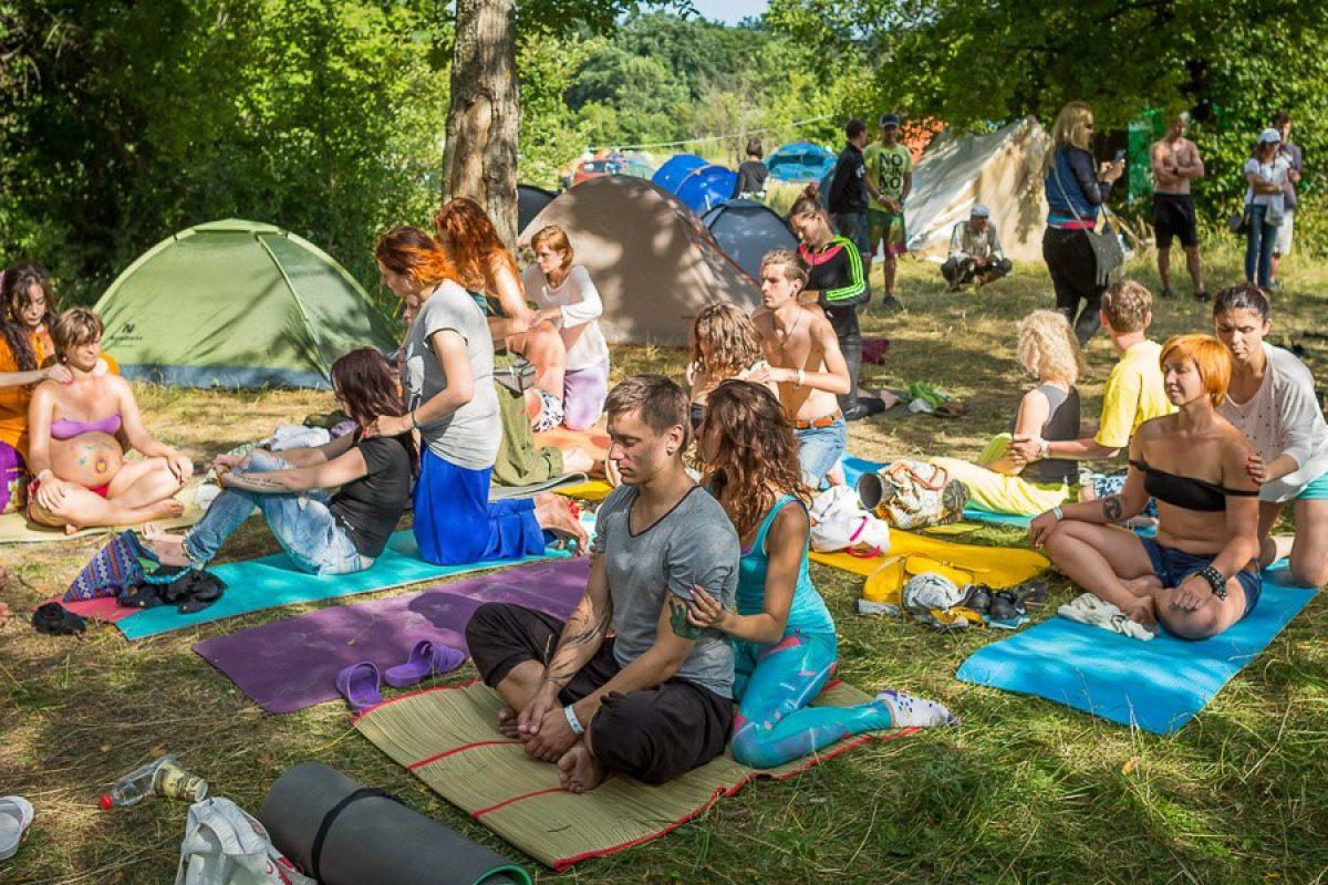 Этно Drum Fest ежегодный фестиваль этнической музыки в Украине, массаж