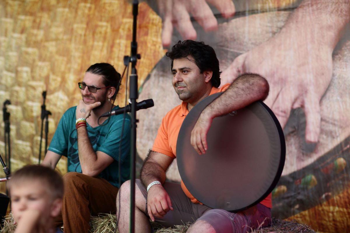 Этно Drum Fest ежегодный фестиваль этнической музыки в Украине, Харьков, Milad Kohpayehzadeh, Кирилл Ошеров