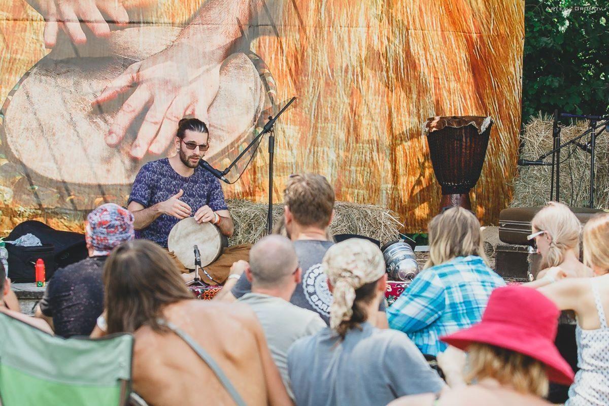 Этно Drum Fest ежегодный фестиваль этнической музыки в Украине, Кирилл Ошеров