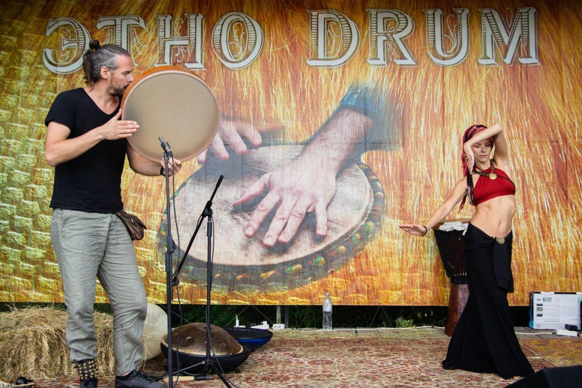 Этно Drum Fest ежегодный фестиваль этнической музыки в Украине, Харьков, Андрей Танзю Карина Клавихо