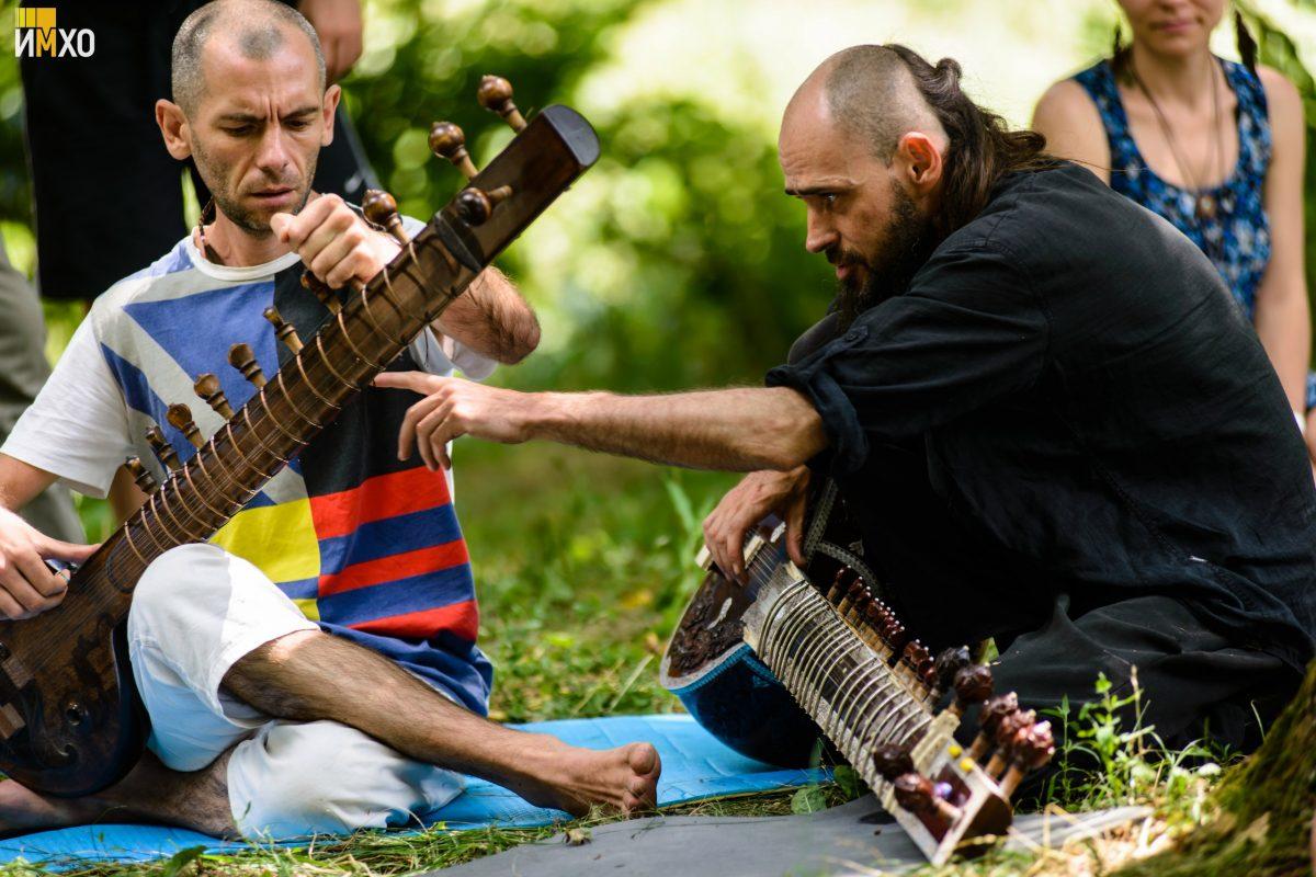 Этно Drum Fest ежегодный фестиваль этнической музыки в Украине, ситар