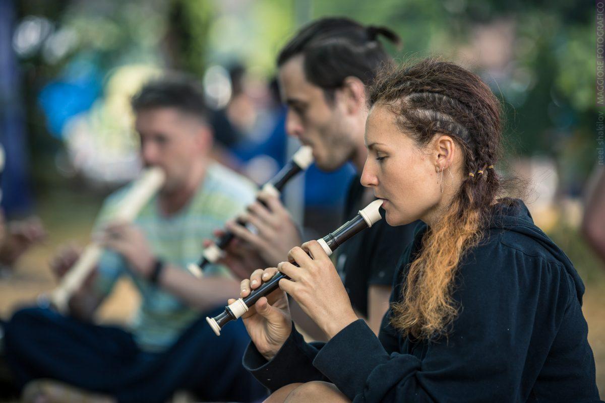 Этно Drum Fest ежегодный фестиваль этнической музыки в Украине, флейты
