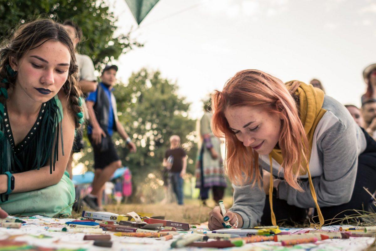 Этно Drum Fest ежегодный фестиваль этнической музыки в Украине, арт