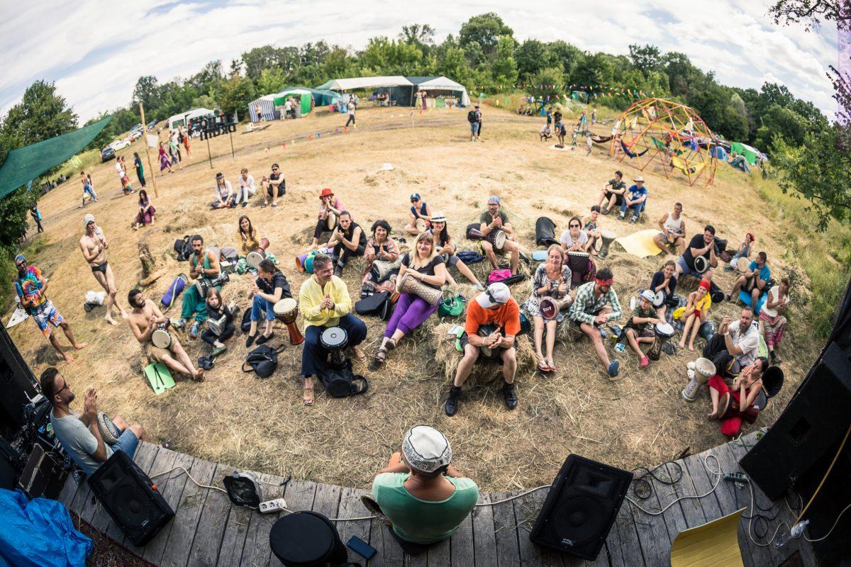 Этно Drum Fest ежегодный фестиваль этнической музыки в Украине, барабаны