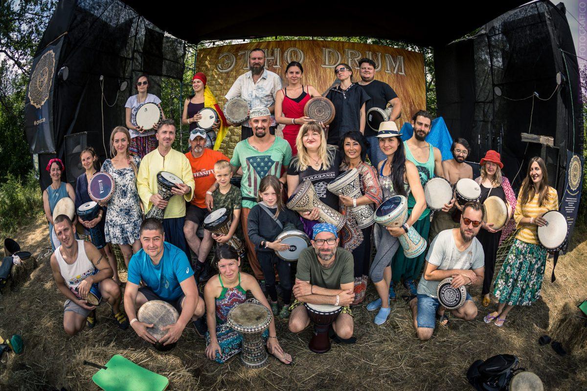 Этно Drum Fest ежегодный фестиваль этнической музыки в Украине, дарбука урок