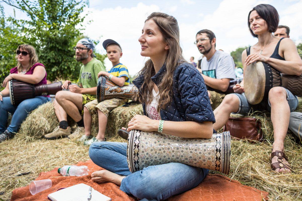 Этно Drum Fest ежегодный фестиваль этнической музыки в Украине, дарбука