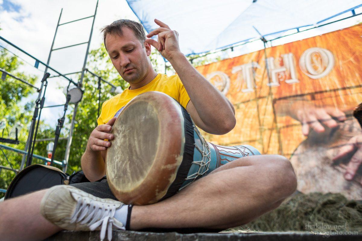 Этно Drum Fest ежегодный фестиваль этнической музыки в Украине, дохола, Илья Филиппенко