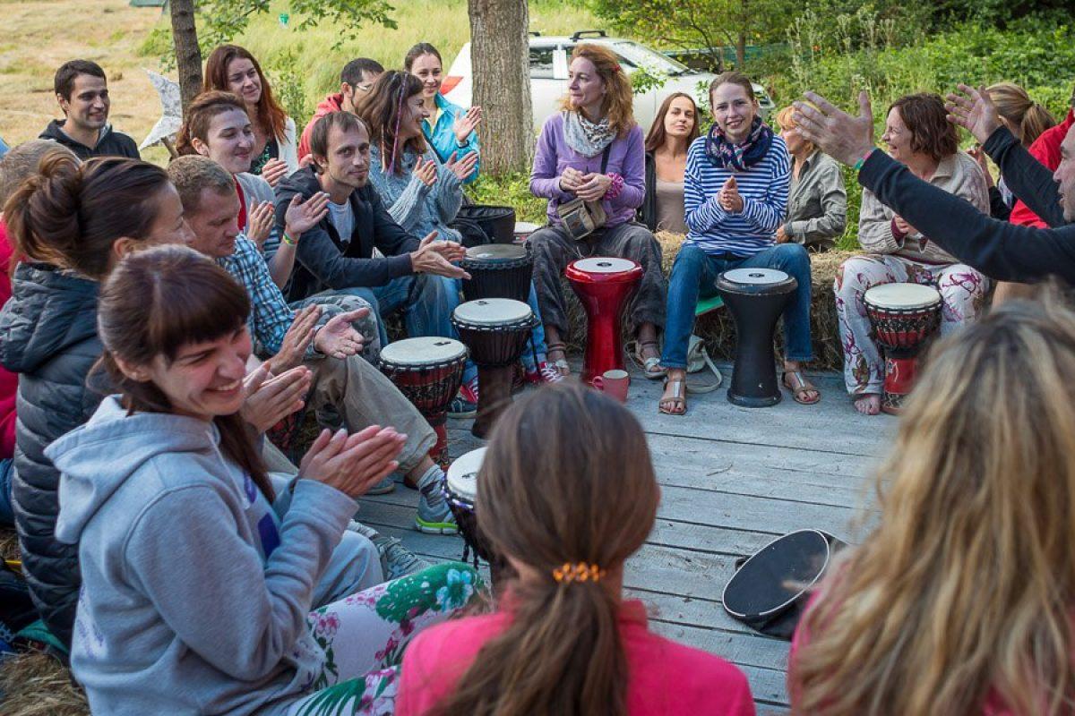 Этно Drum Fest ежегодный фестиваль этнической музыки в Украине, барабанный круг