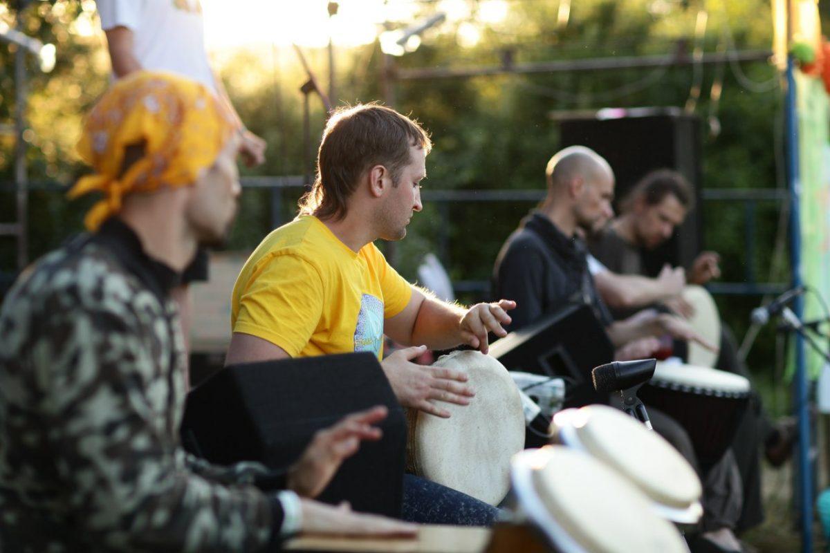 Этно Drum Fest ежегодный фестиваль этнической музыки в Украине, барабанный джем